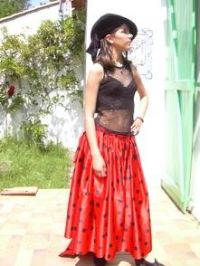 robe espagnole, création mode