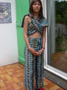 costume tissu africain