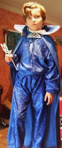 costume grenouille bleue -ecrirecoach