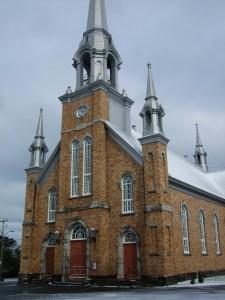 église, carnet voyage Quebec