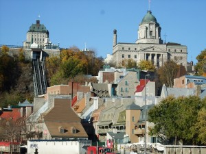 Vieux quartier Quebec