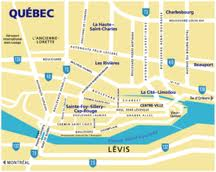 carte ville Quebec