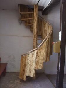 escalier bois cactus Toconao
