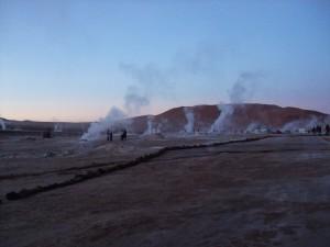 campo geotermico tatio