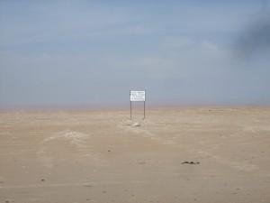 terrain militaire arica