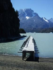 lago grey embarcadère