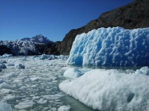 glacier lago grey patagonie