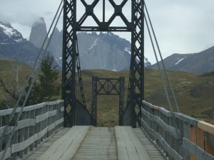 Pont de bois torres del paine