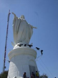 Vierge San cristobal santiago