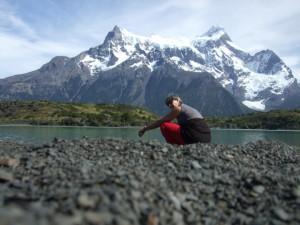 lago péhoé Patagonie