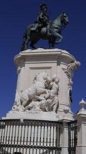 Statue Joseph premier-Praça commerci-lisboa
