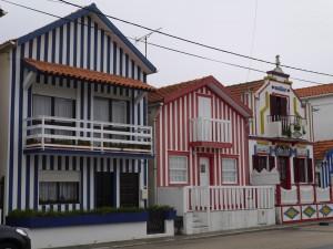 maisons typiques Aveiro, carnet de voyage Portugal