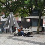 Lisbonne Largo do carmo
