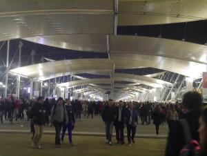Allée centrale expo Milan