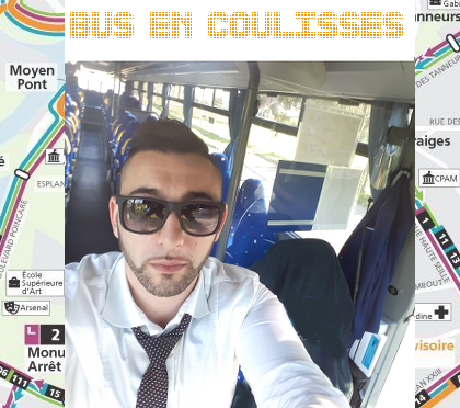 Bus en coulisses